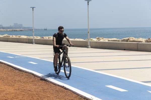 18,2 kilometrelik Bisiklet Yolu Projesinin yüzde 80i tamamlandı