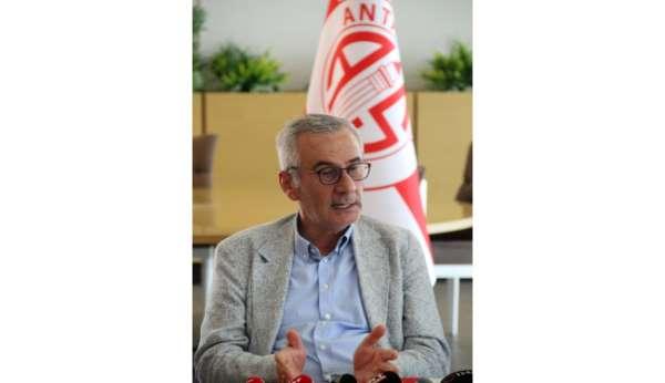 Antalyasporun toplam borcu 70 milyon
