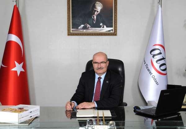ATO Başkanı Baran: Tüm kaynaklarımızla üyelerimizin yanındayız