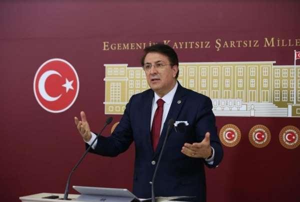 Aydemir TBMMde Erzurumsporun hakkını savundu