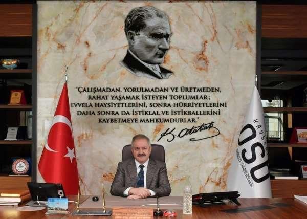 Başkan Nursaçan: Üretimin lokomotiflerini kutluyorum