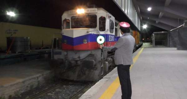 Çine gidecek ihracat trenleri Karsta