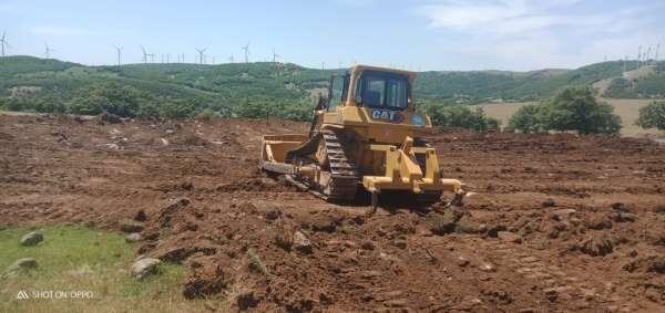 Hamidiye Mahallesinde yeni HİS göleti çalışmaları başladı