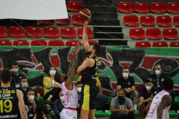 ING Basketbol Süper Ligi play-off: Pınar Karşıyaka: 76 - Fenerbahçe Beko: 78