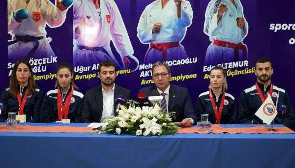 İstanbul BBSK sporcuları gözlerini olimpiyata dikti