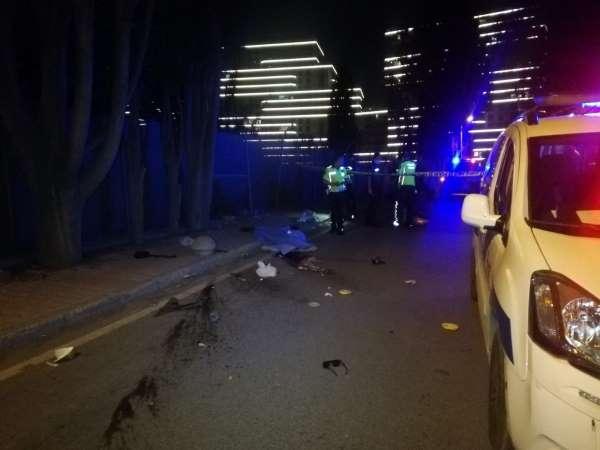 Kaldırımdaki beton mantara çarpan üniversite öğrencisi moto kurye hayatını kaybetti