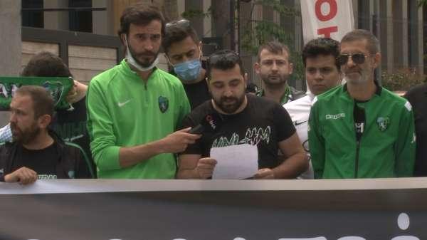 Sakaryaspor ve Kocaelispor taraflarından ortak talep: Her iki takım da 1. Lige çıksın