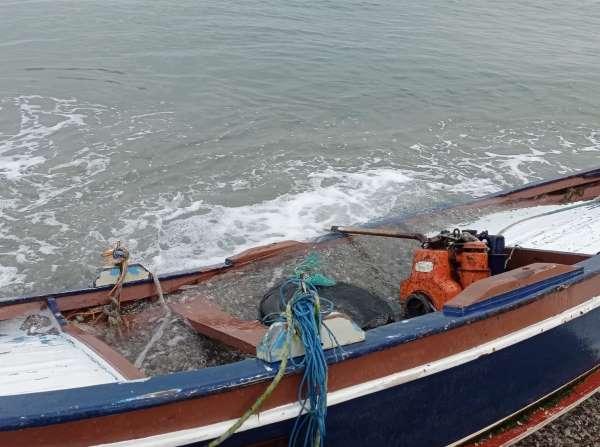 Samsunda kayık alabora oldu: 1 ölü