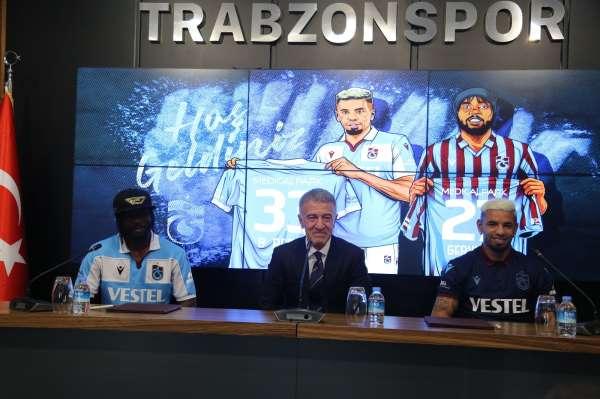 Trabzonspor Gervinho ve Peres ile sözleşme imzaladı