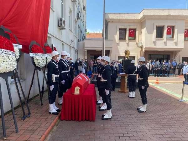Yalovada şehit polis memuru için tören düzenlendi