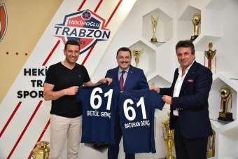Başkan Genç, Hekimoğlu Trabzon FK'yı ziyaret etti