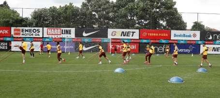 Galatasaray'da hazırlıklar tam gaz