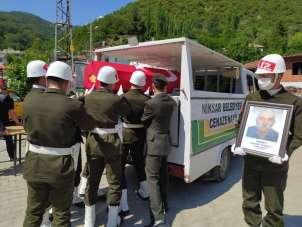 Kore Gazisi Doğan, son yolculuğuna uğurlandı