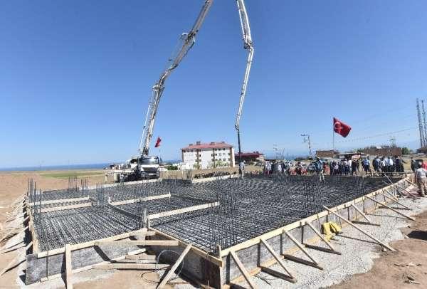 Şehit Eren Öztürk'ün vasiyette bulunduğu caminin temeli atıldı