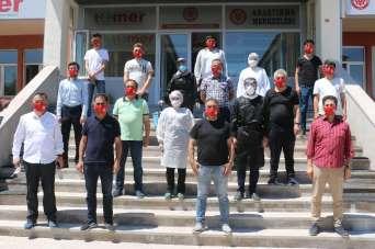 Sivas'ta spor medyası korona virüs testinden geçti