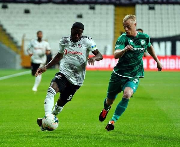 Süper Lig: Beşiktaş: 0 - Konyaspor: 0 (Maç devam ediyor)