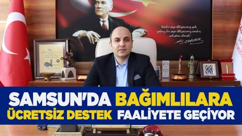 Samsun'da bağımlılara ücretsiz destek faaliyete geçiyor