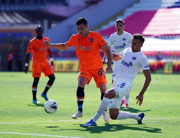 Süper Lig: Kasımpaşa: 2 - Medipol Başakşehir: 0 (İlk yarı)