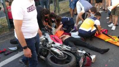 Zonguldak'ta zincirleme kaza: 2 yaralı