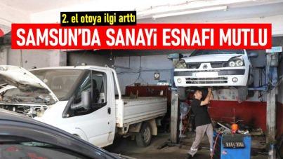 Samsun'da sanayi esnafı mutlu