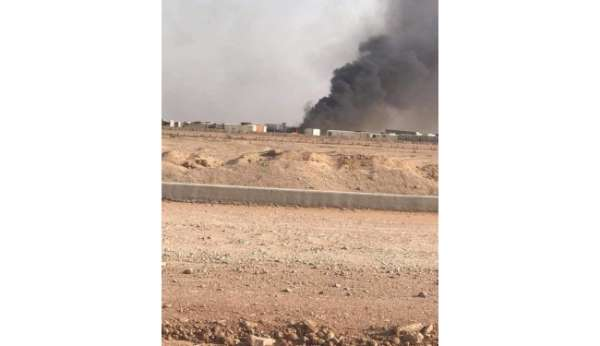 Irakta Haşdi Şabiye ait silah ve mühimmat deposuna SİHA saldırısı