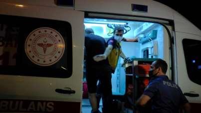 Sultanbeyli'de trafik kazası: 2 yaralı