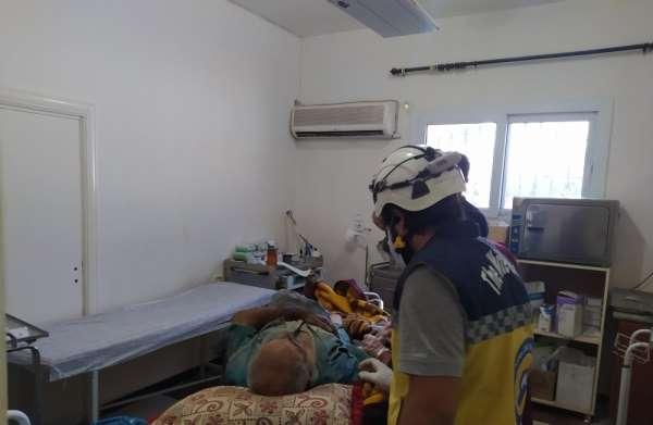 Afrin'de patlama: 2 yaralı