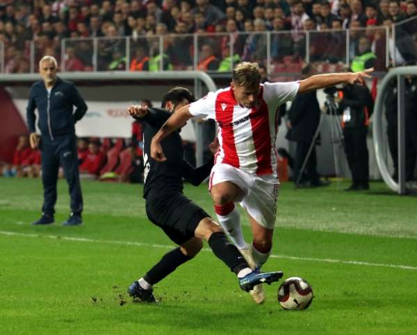 TFF 2. Lig: Yılport Samsunspor : 0 - Sancaktepe FK: 0
