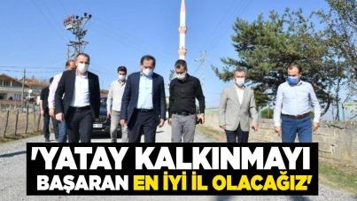 Mustafa Demir: 'Yatay kalkınmayı başaran en iyi il olacağız'