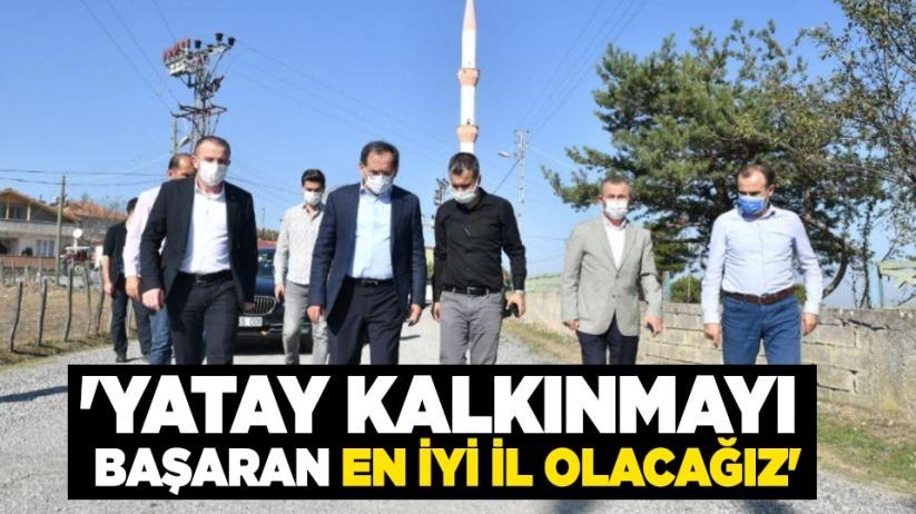Mustafa Demir: Yatay kalkınmayı başaran en iyi il olacağız