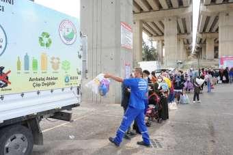 Çevre temiz kalıyor, vatandaş para kazanıyor
