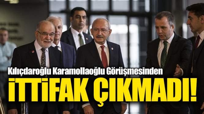 CHP-Saadet Partisi Görüşmesinden İttifak Çıkmadı!
