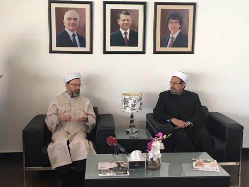 Diyanet İşleri Başkanı Erbaş Ürdün'de