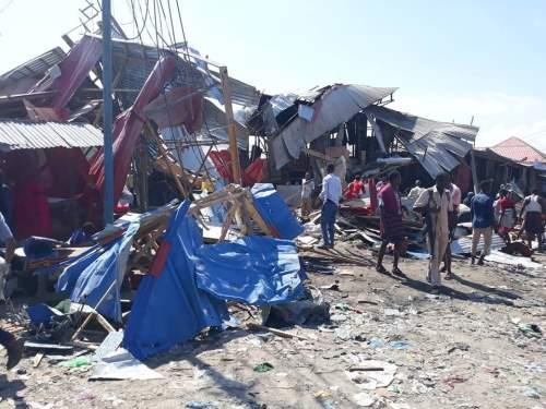 Somali'de Pazar yerinde patlama: 8 ölü