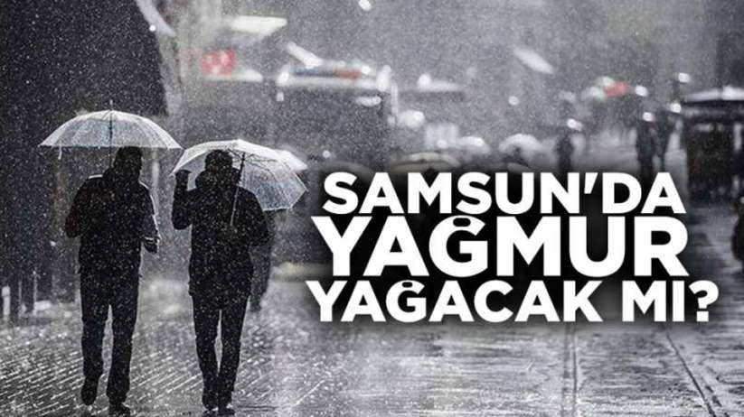 26 Kasım Salı Samsun ve ilçeleri hava durumu, Yağmur yağacak mı?