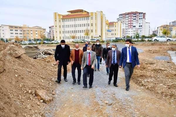 Başkan Çınar'ın spor tesisleri projesi gerçeğe dönüşüyor