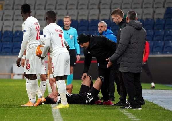 UEFA Avrupa Ligi: Karabağ: 1 - DG Sivasspor: 1 (İlk yarı)