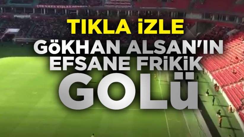 Gökhan Alsan'ın BAK Spor'a attığı gol
