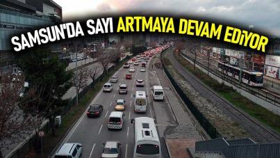 Samsun'da sayı artmaya devam ediyor