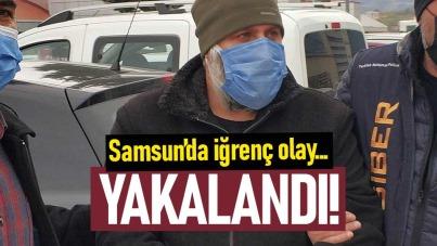 Samsun'da çocuk istismarı içerikli görüntü satan kişi yakalandı