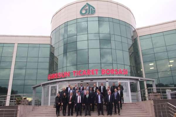 Trabzon ile Giresun Ticaret Borsası Kardeş Borsa Protokolü yaptılar