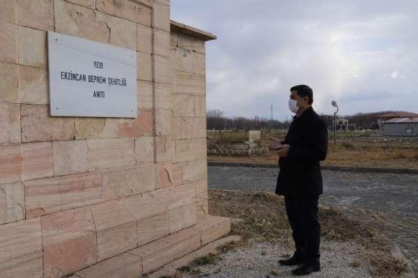 Aksun'dan Deprem Şehitliği Anıtına ziyaret