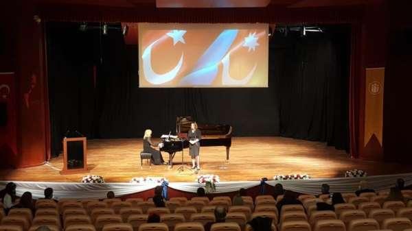İnönü Üniversitesinde Azerbaycan konseri