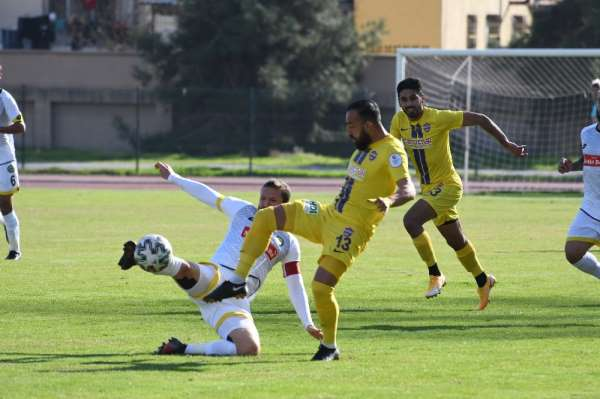 Misli.com 2. Lig: Tarsus İdman Yurdu: 0 - Eyüpspor: 1