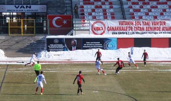 TFF 2. Lig Kırmızı Grup: Van Spor FK: 1 - GMG Kastamonuspor: 2