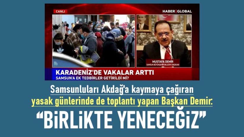 Mustafa Demir: Birlikte yeneceğiz