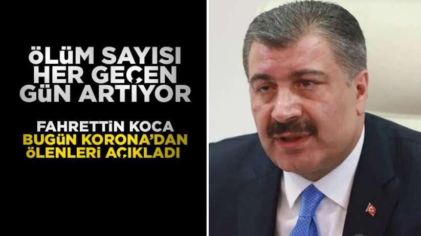 26 Mart Perşembe Türkiye'de korona virüsten ölüm sayısı
