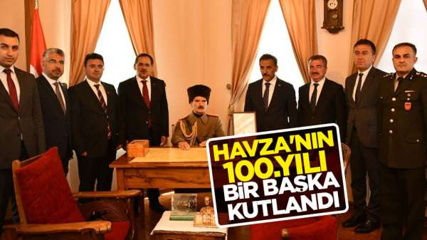 Atatürk'ün Havzaya çıkışının 100. yılı