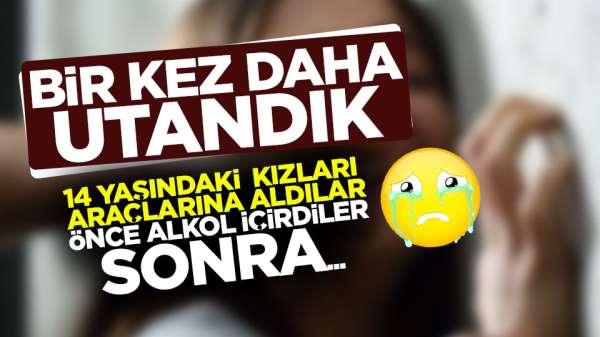 Samsun'da utanç veren olay, 14 yaşındaki kızlara