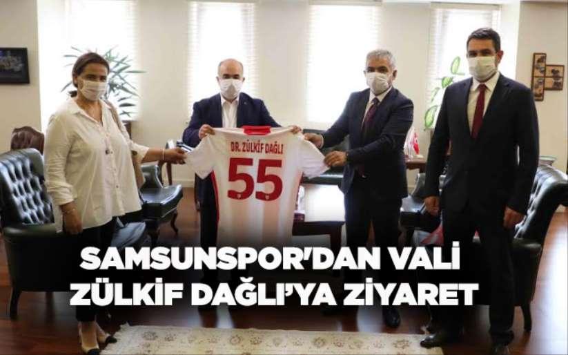 Samsunspor'dan Vali Zülkif Dağlı'ya ziyaret